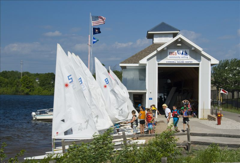 The Boathouse at the Cornwell Sailing Center