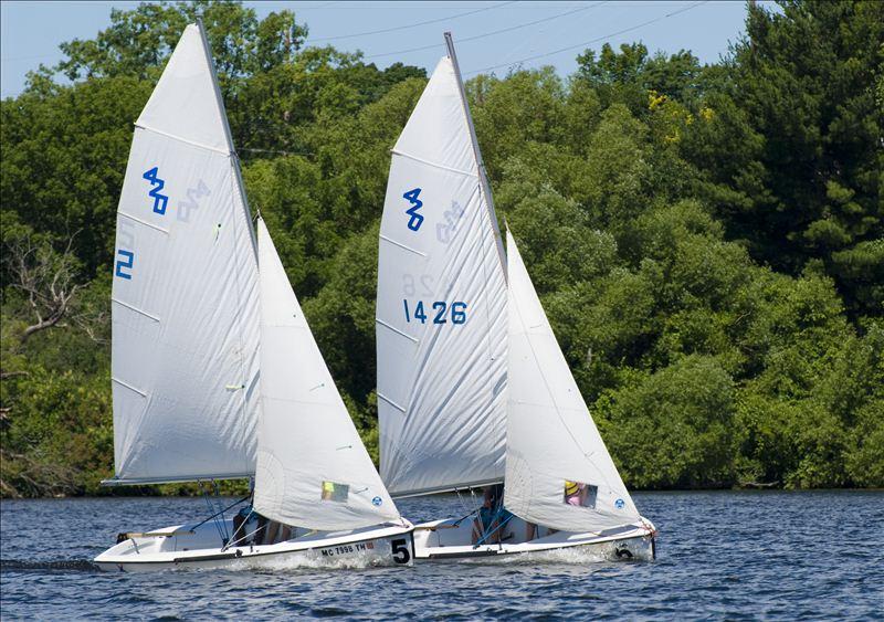 Sailing on Boardman Lake