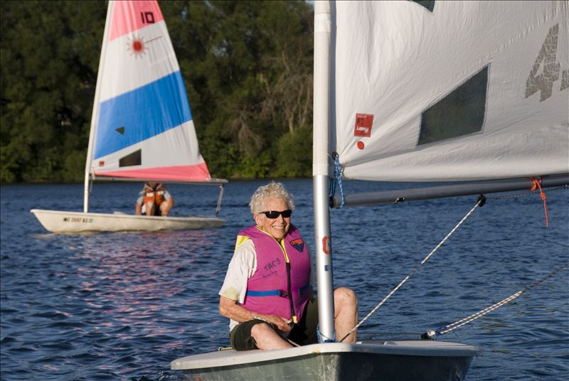 Adult Learn To Sail at the Cornwell Sailing Center