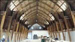 Renovations underway on the Cathedral Barn