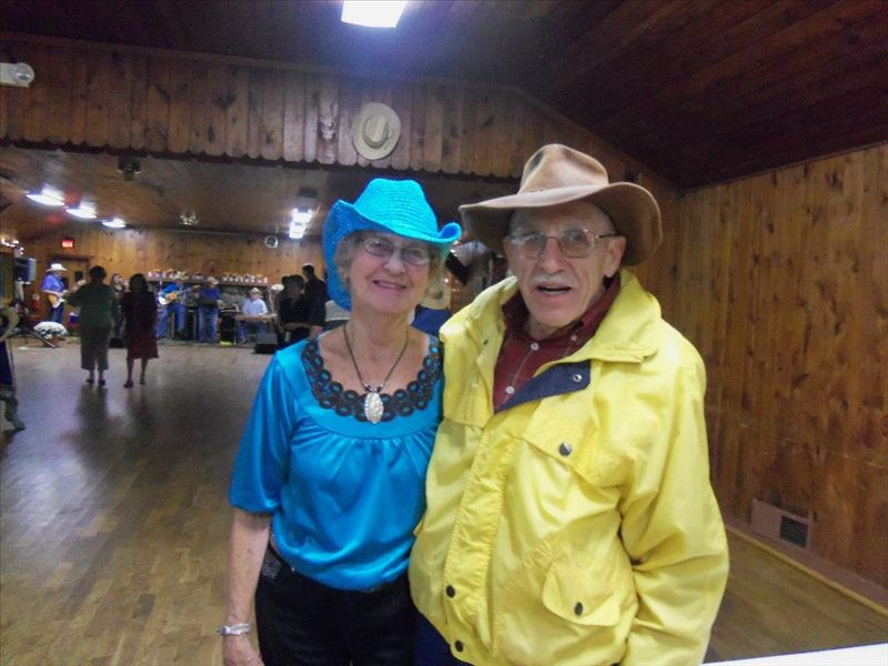 Wally & Belva at 2012 Hoe Down